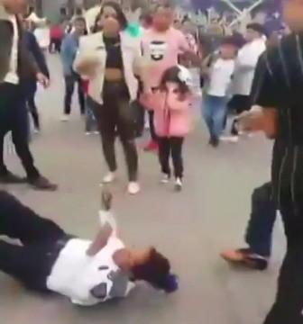 pelea Zócalo