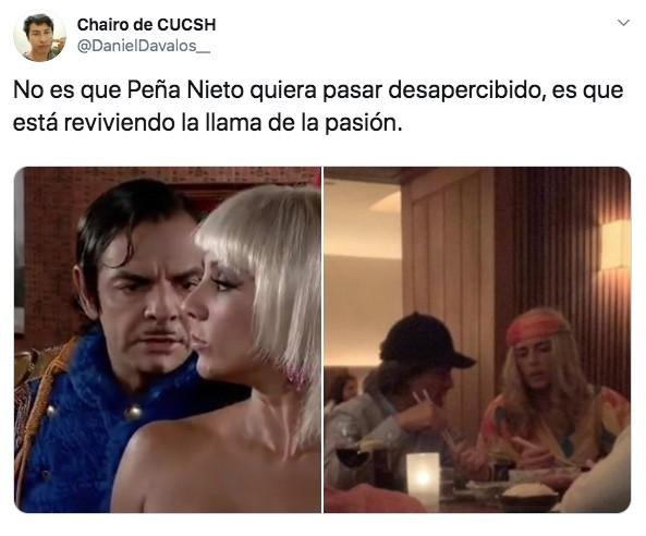 Los mejores memes sobre las pelucas de Enrique Peña Nieto y Tania Ruiz