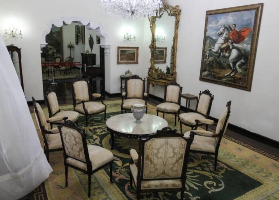 Residencia presidencial de Venezuela se vuelve casa cultural