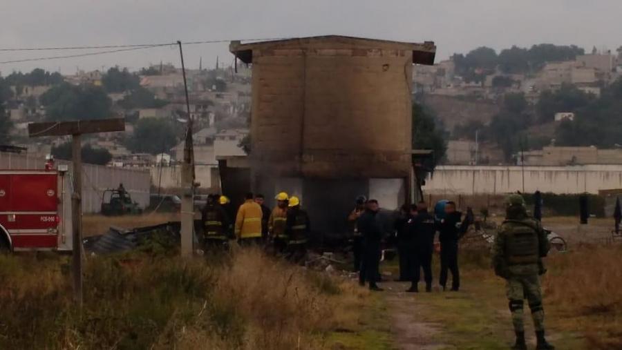 Explosión de polvorín en Tultepec deja al menos dos lesionados