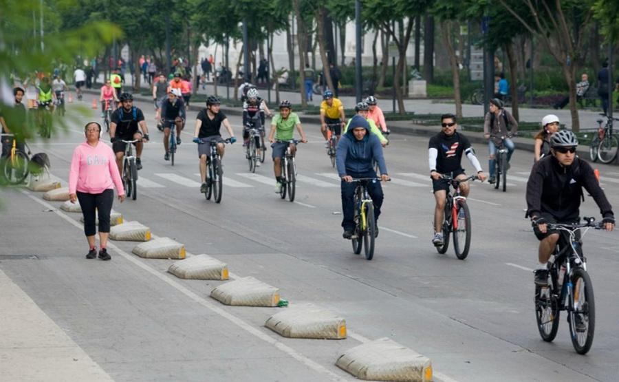 Se modificará la ruta del Ciclotón para este domingo en la Ciudad de México