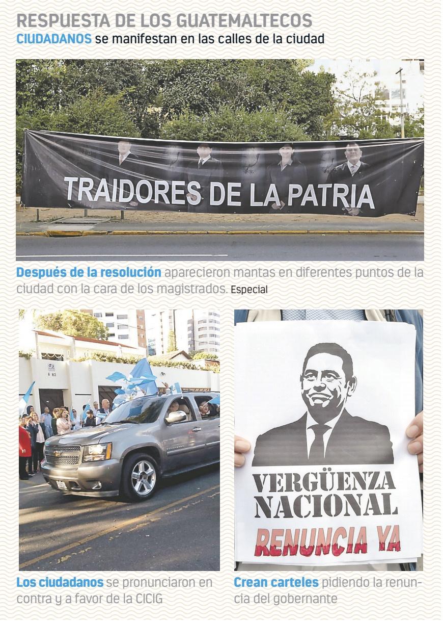 Corte de Guatemala da revés a Jimmy Morales