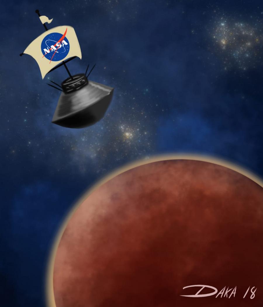 Insight manda desde Marte su primera foto