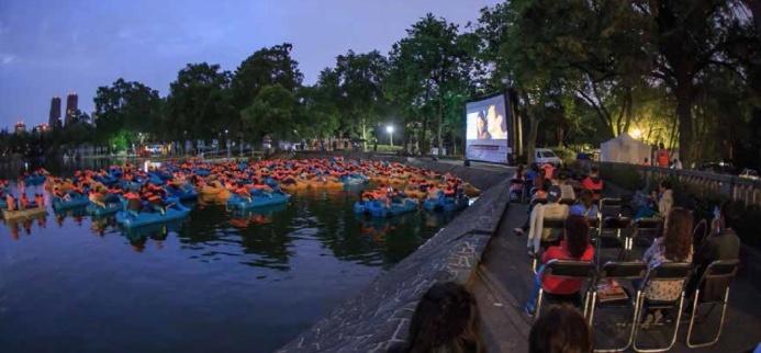 Regresan las Noches de Cine en bosques de Aragón y Chapultepec