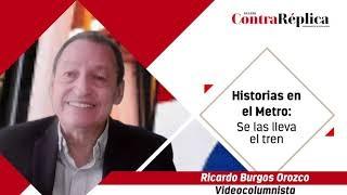 HISTORIAS EN EL METRO SE LAS LLEVA EL TREN