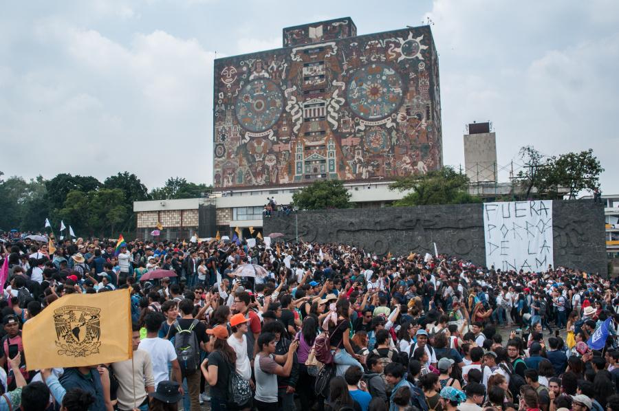 Caen 3 porros más por actos violentos en la UNAM