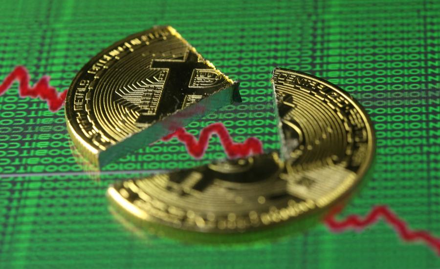 Valor del Bitcoin sigue cayendo: ya está por debajo de 4,500 dólares