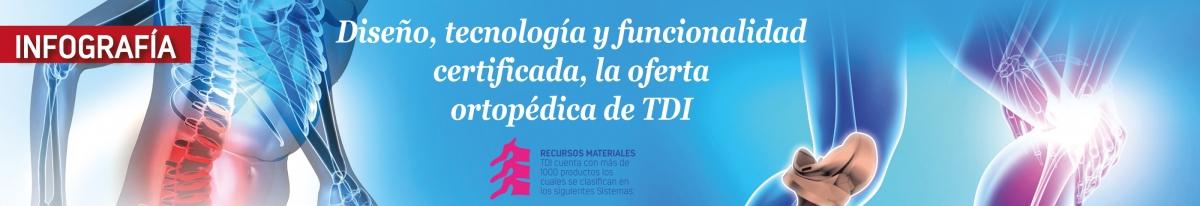 Diseño, tecnología y funcionalidad certificada, la oferta ortopédica de TDI