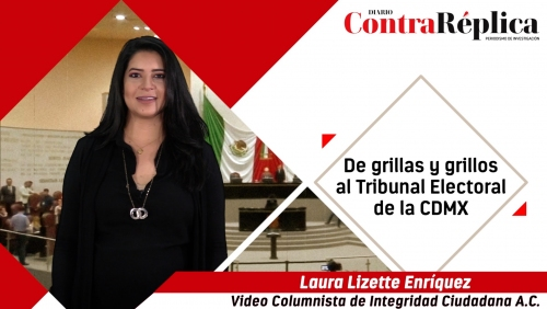 De grillas y grillos al Tribunal Electoral de la CDMX