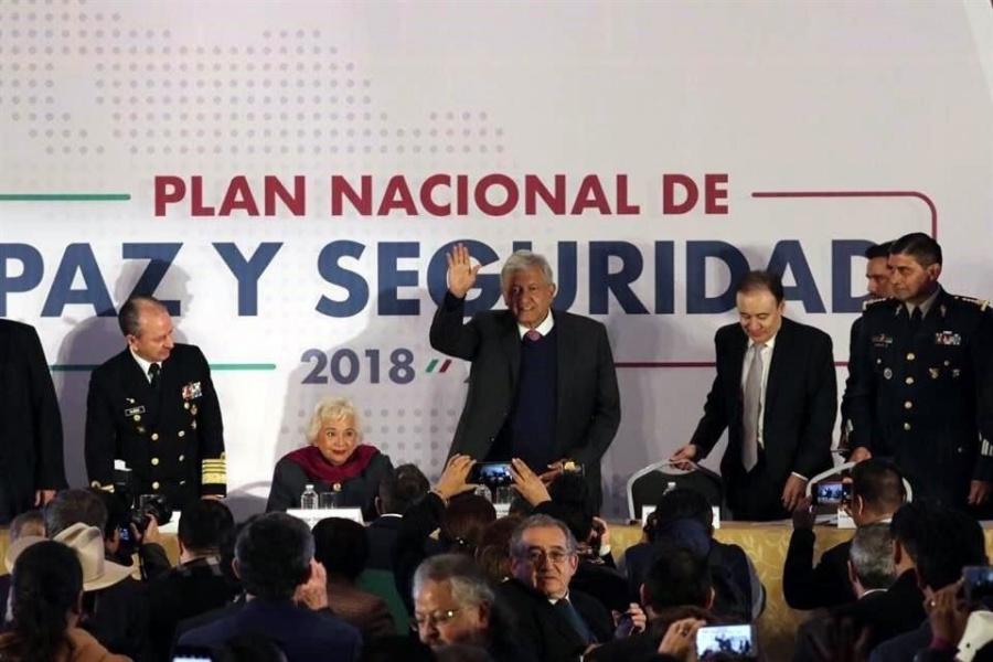 Presentan ocho ejes con los que contará el Plan Nacional de Paz y Seguridad