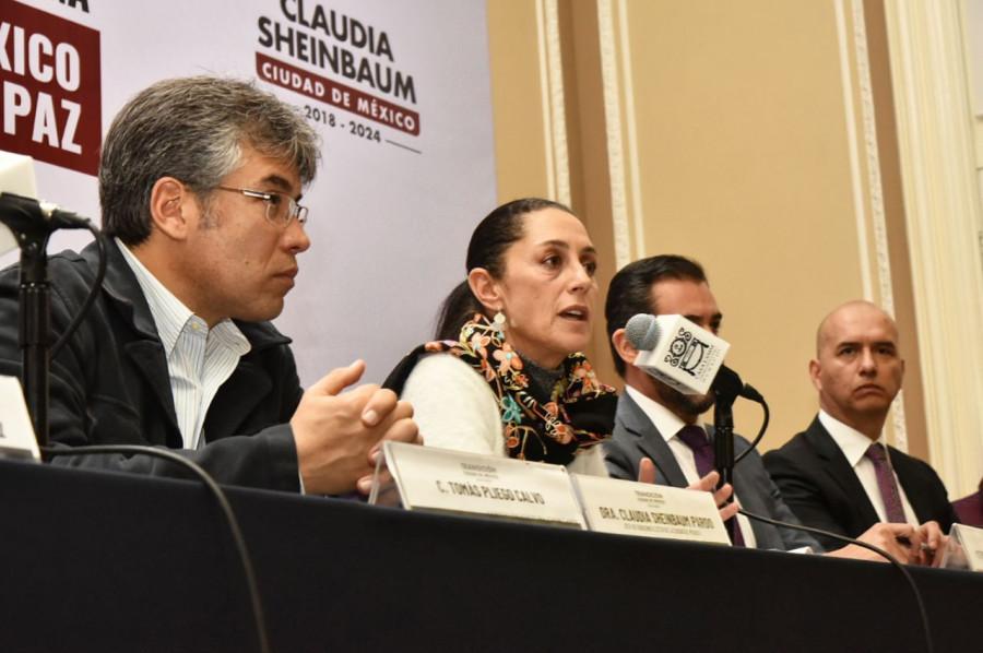 Sheinbaum presenta Plan de Seguridad CDMX con Jesús Orta al frente de la SSP