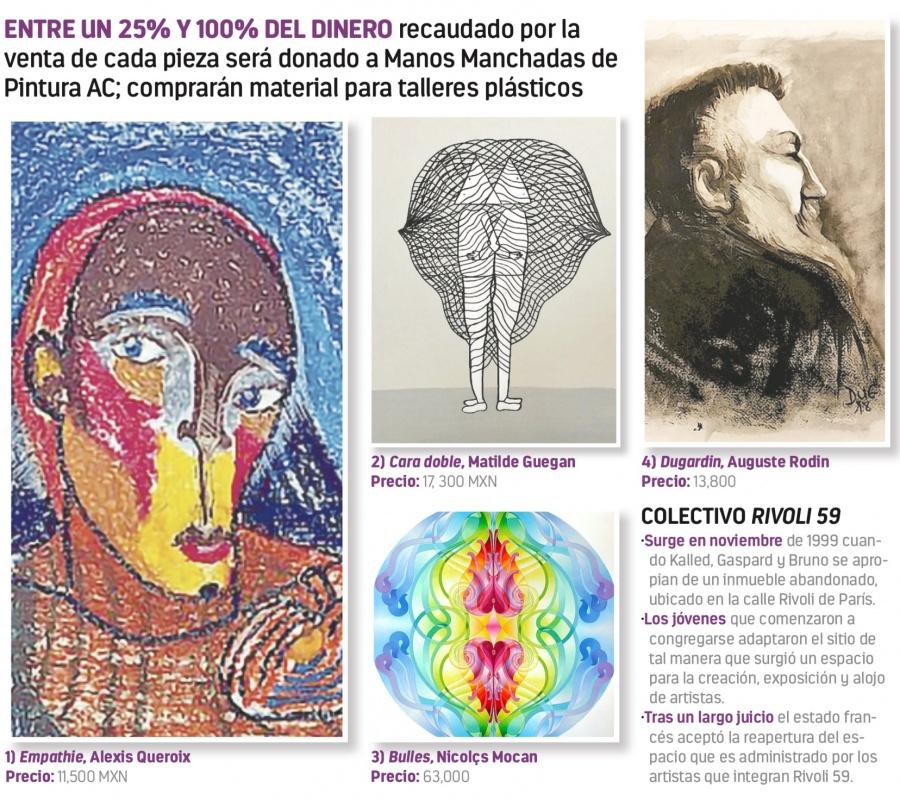 Morton vende arte para ayudar a hijos de policías asesinados
