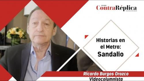 HISTORIAS EN EL METRO SANDALIO