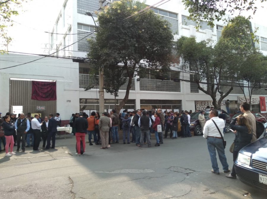 Estudiantes de la UACM, piden la salida del rector Galindo Morán