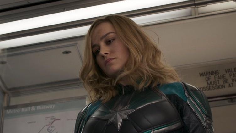 Capitana Marvel pide que vayan a votar en EU