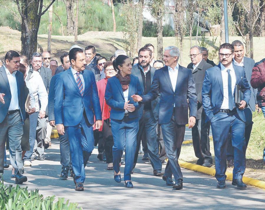 GobCDMX trabajará en conjunto con Edomex e Hidalgo; buscan impulsar el desarrollo social