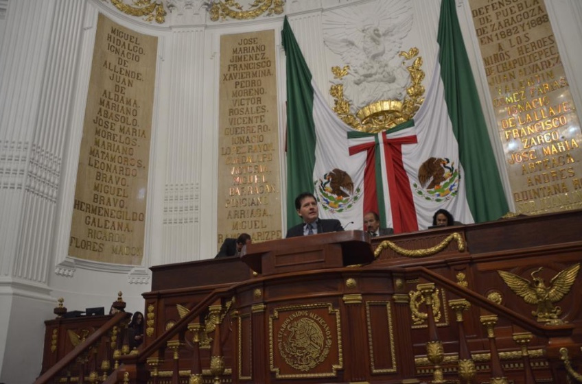 Lobo Román está de acuerdo con la aprobación del presupuesto para el Congreso de la Ciudad de México
