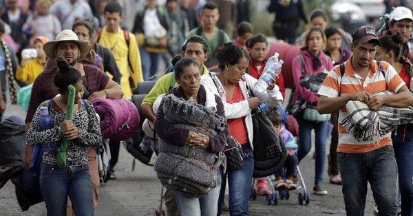 Segunda caravana migrante deja la CDMX