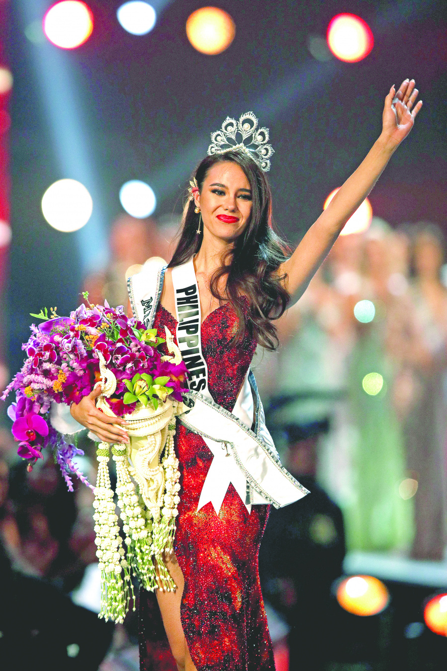 Por cuarta vez, filipina reina en Miss Universo