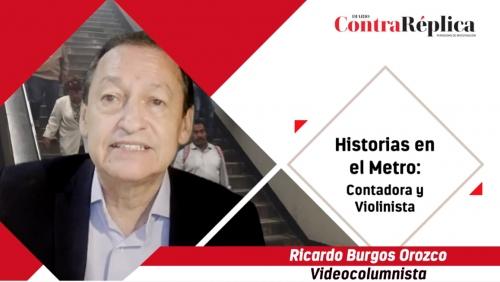 HISTORIAS EN EL METRO CONTADORA Y VIOLINISTA