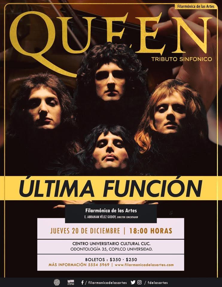 """OFIA presenta tributo sinfónico a """"Queen"""" en el Centro Universitario Cultural"""