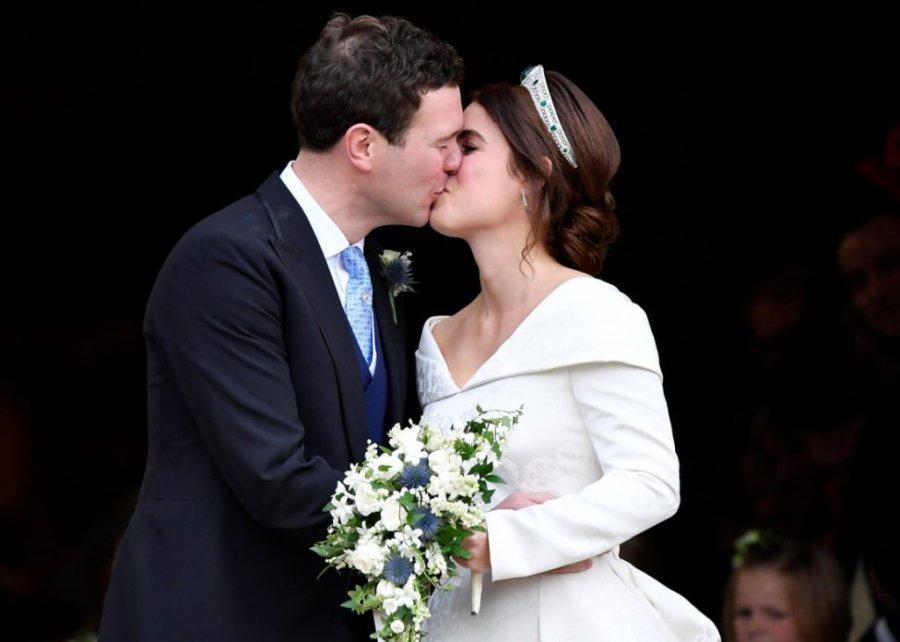 Cara Delevingne presente en la boda de la princesa Eugenia nieta de Isabel II