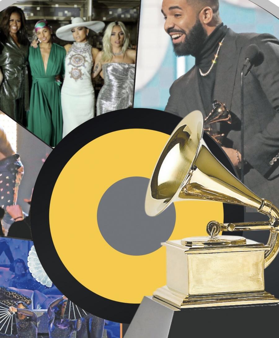 Power fem reina en la 61 entrega de los Grammy