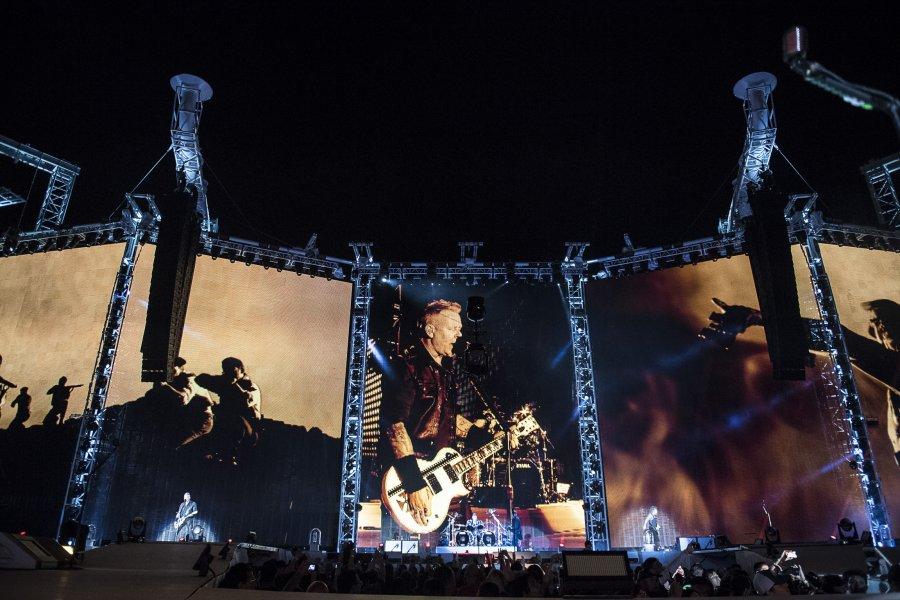 Metallica arrasa en Madrid con 68 mil boletos vendidos