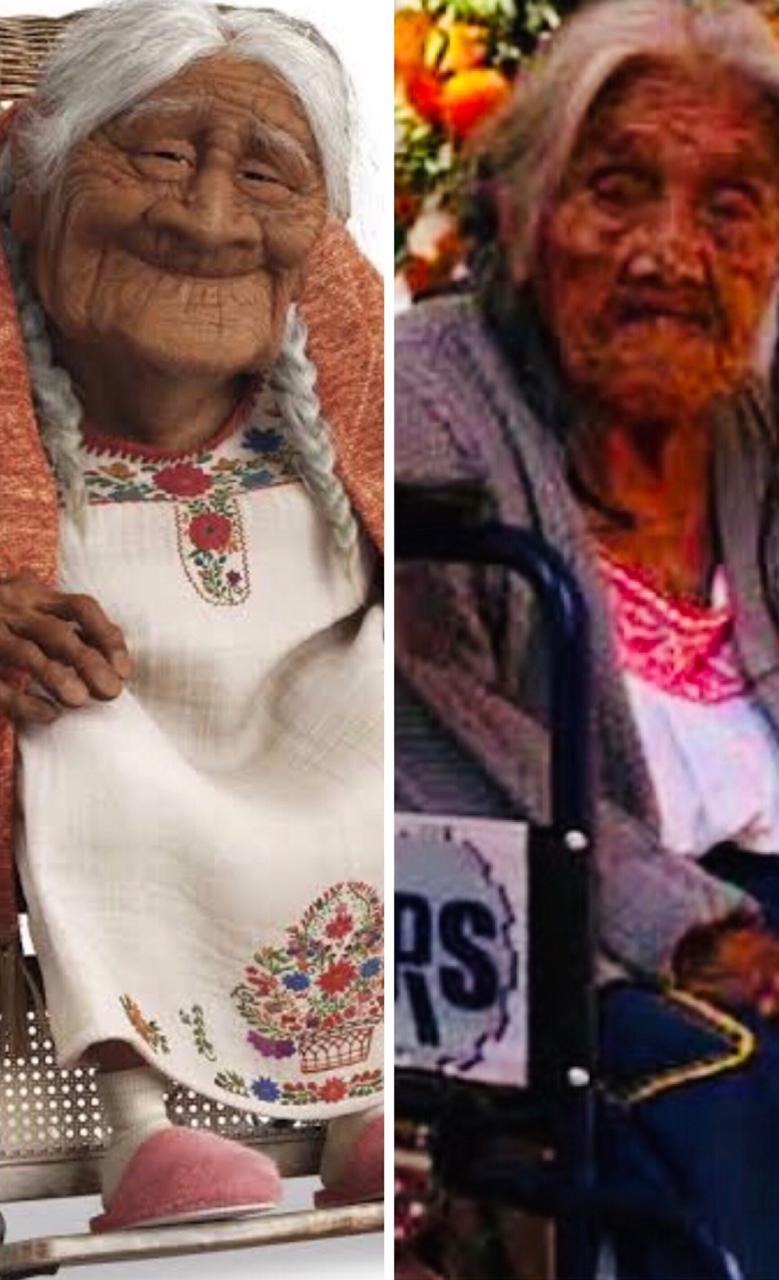 """Nombran embajadora de artesanos en Michoacán a """"Mamá Coco"""""""