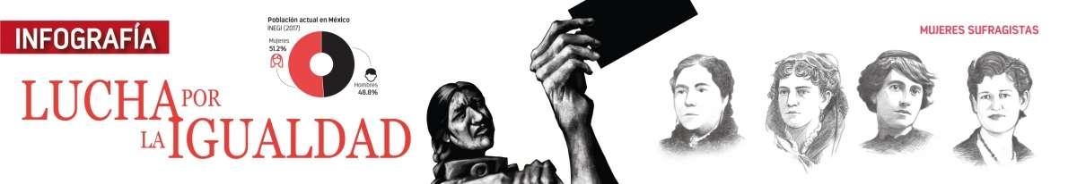 Se conmemoran 66 antildeos de la aprobacioacuten del voto femenino en Meacutexico