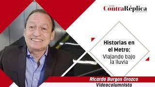 HISTORIAS EN EL METRO VIAJANDO BAJO LA LLUVIA