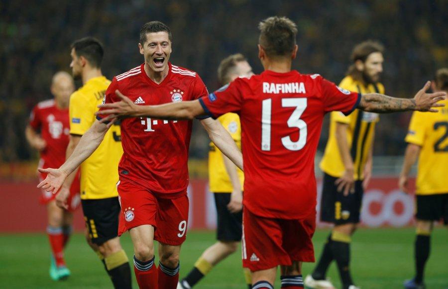 Bayern recupera la memoria y vence al AEK en la Champions