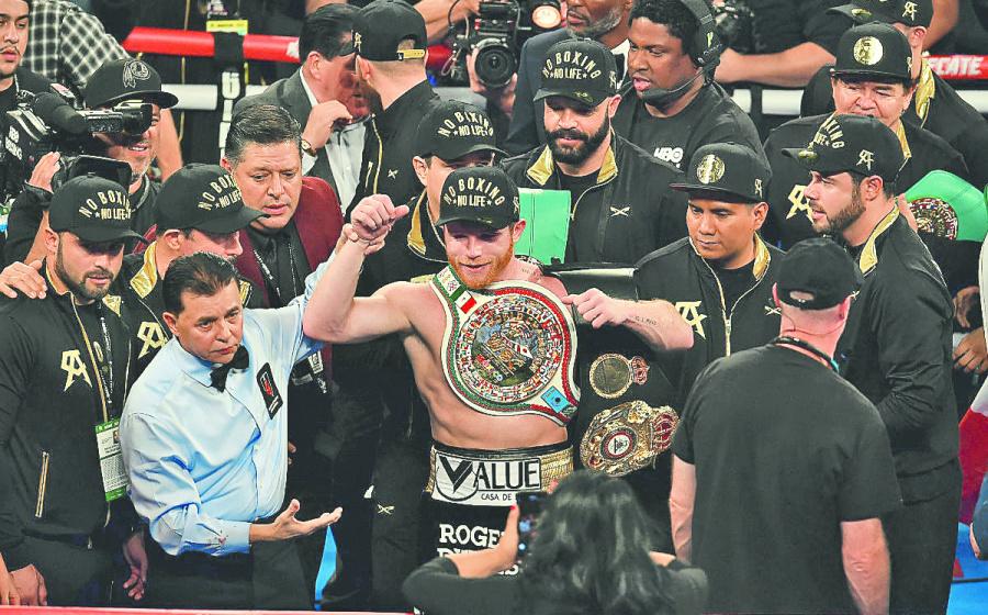 En planes, pelea de Canelo en el Estadio Azteca