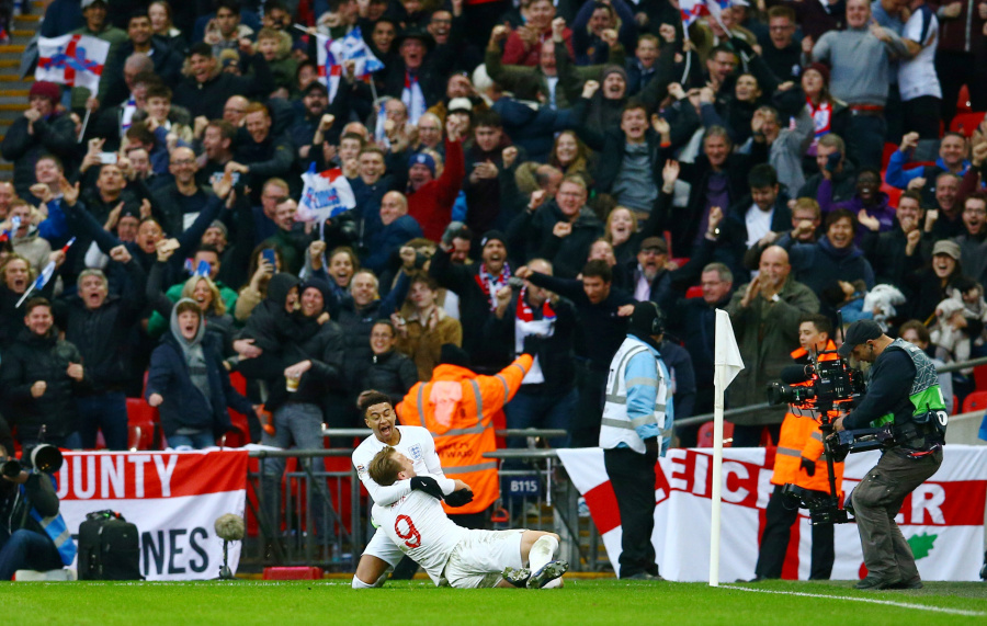 Inglaterra gana y desciende a Croacia en la UEFA Nations League