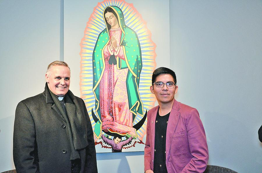 Nueva pintura de La Virgen ofrece pistas de su atuendo original