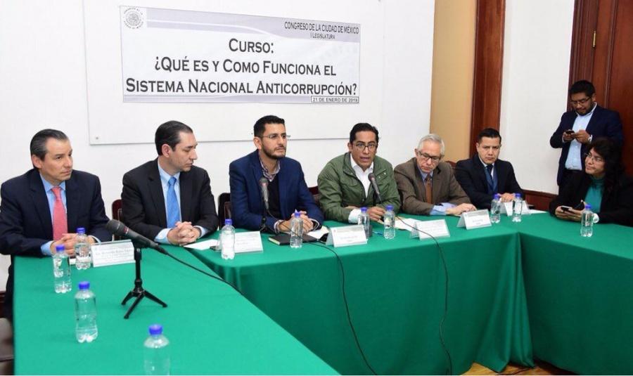 Asegura bancada de Morena en Congreso CDMX, compromiso en combate a la corrupción