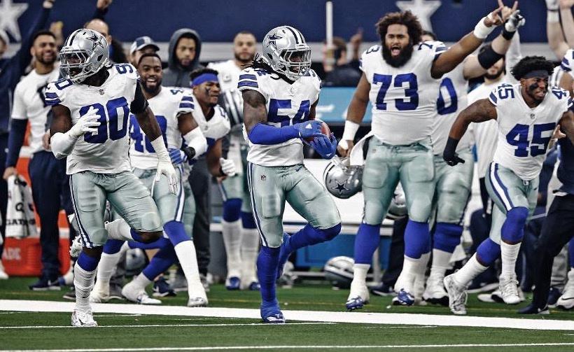 Los Vaqueros de Dallas se coronan en la división Este de la NFC