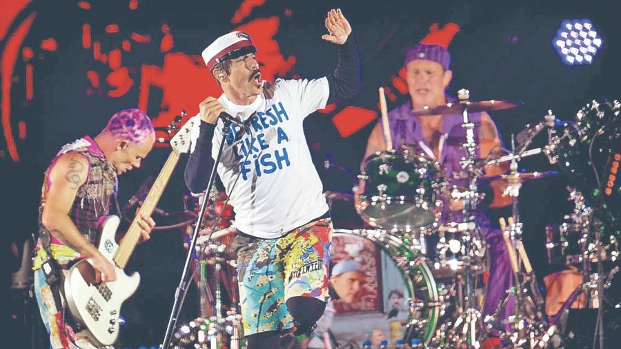 Los Grammy vuelven a LA con Red Hot Chilli Peppers