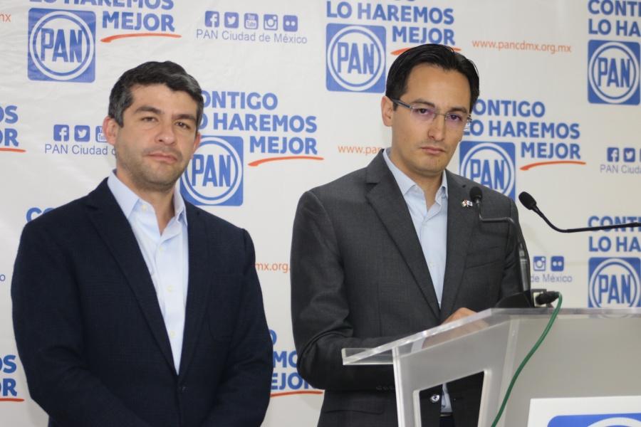 PAN presenta agenda legislativa ciudadana y exige resultados al gobierno de la Ciudad de México