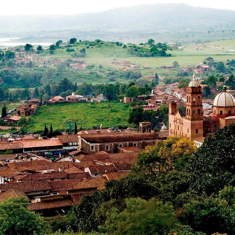 Tapalpa se ubica en la zona central de Jalisco.