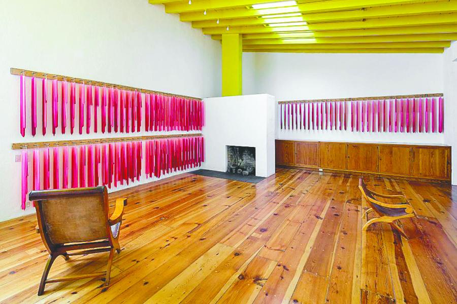 Maquillan Casa Barragán con intervención artística