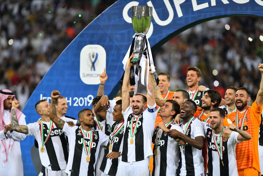 Cristiano Ronaldo y la Juventus, se llevan la Supercoppa de Italia