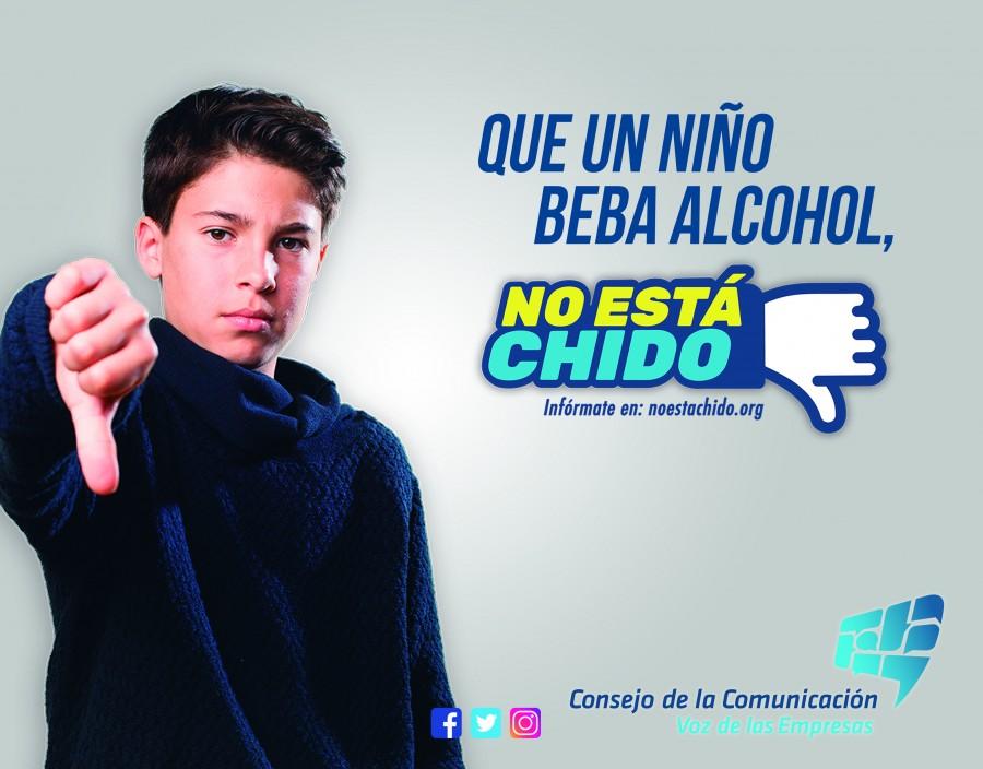 Movimiento No Está Chido, en contra del consumo de alcohol y tabaco en menores de edad