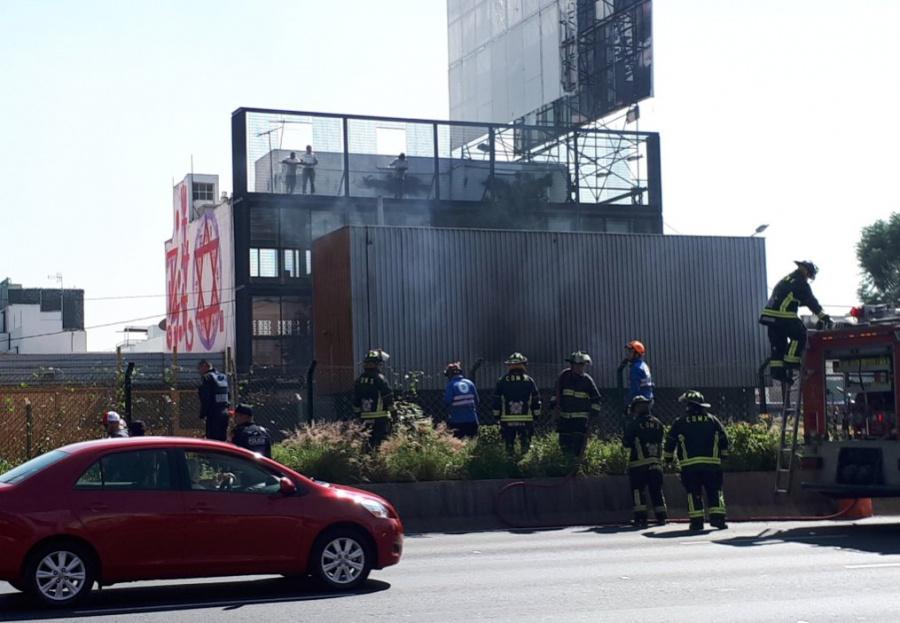 Suspenden servicio en Línea 2 del Metro por incendio