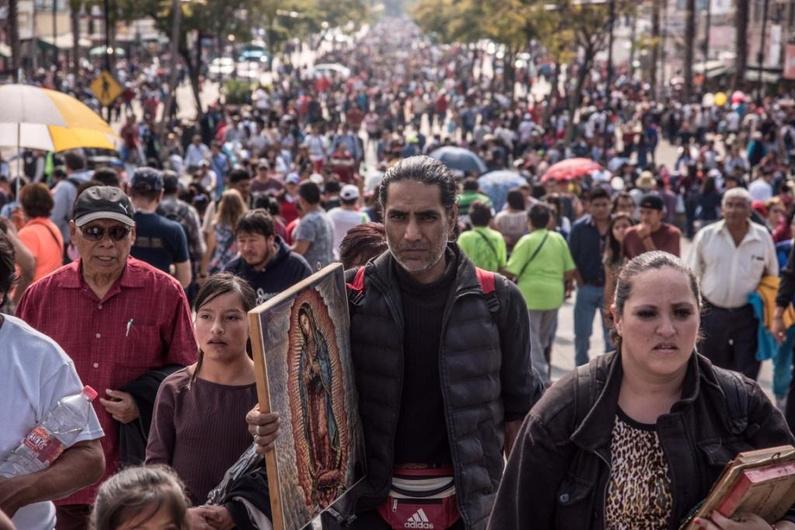 Inician peregrinación anual a la Basílica de Guadalupe