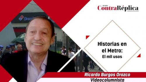 HISTORIAS EN EL METRO EL MIL USOS