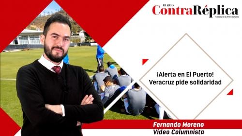 Alerta en El Puerto Veracruz pide solidaridad