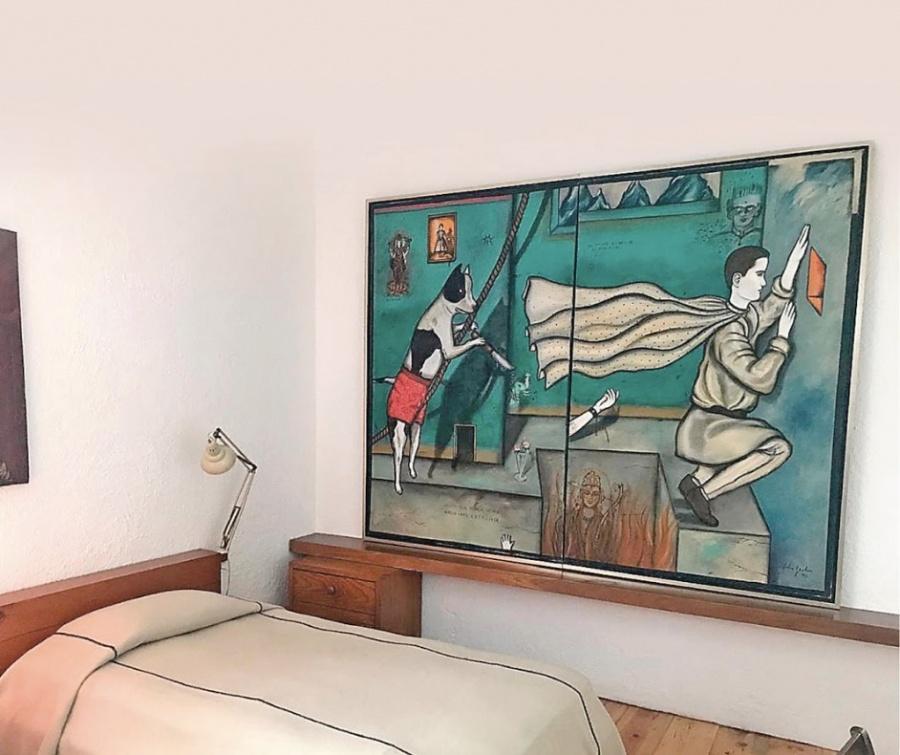 Arte y diseño diálogan en la casa de Barragán