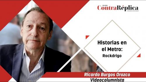 HISTORIAS EN EL METRO ROCKDRIGO