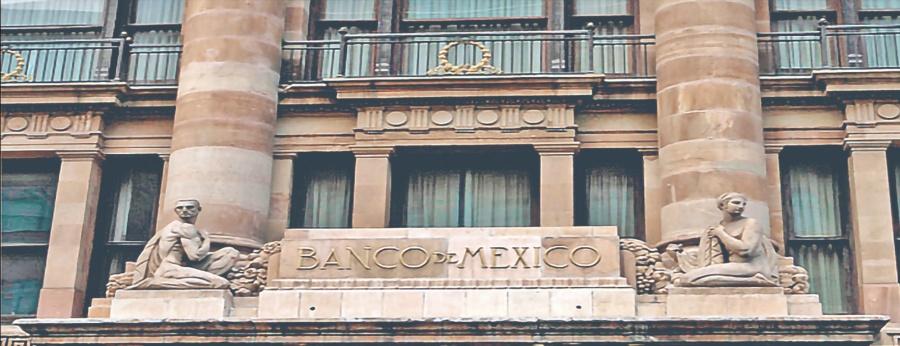 Inflación de 3.4% para 2019, prevé el Banxico